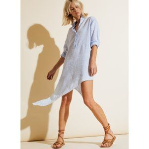 FRANK AND EILEEN | Drake Stripe Shirt Dress XS